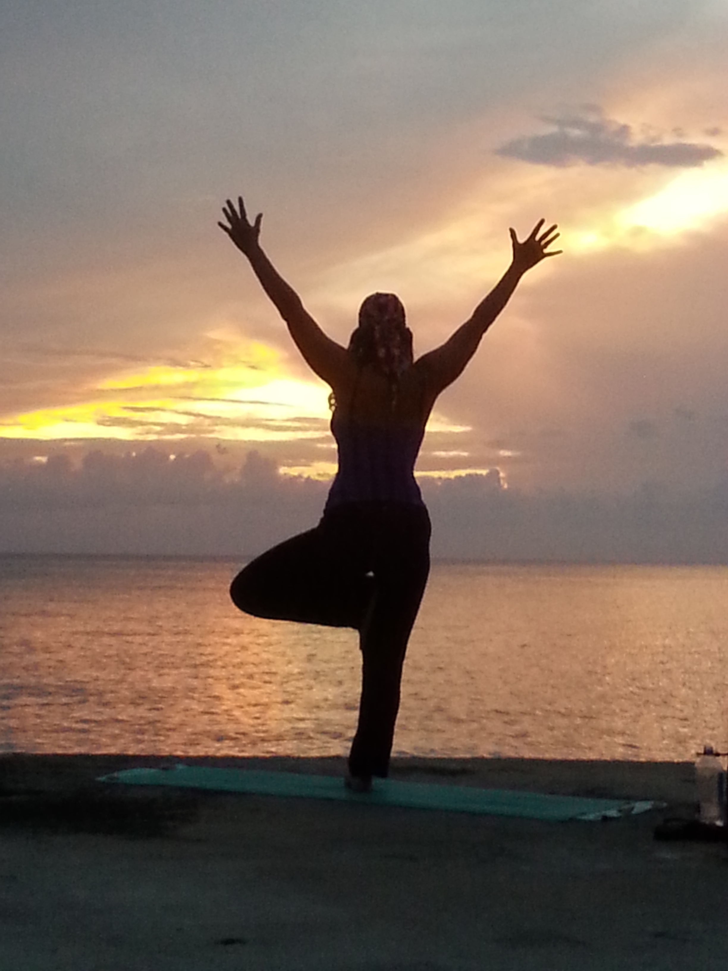 Suuz Yoga Tree Sunset Cozumel